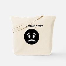 Custom Sad Face Tote Bag