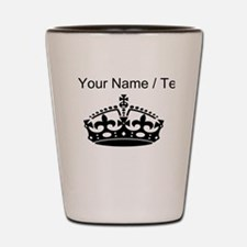 Custom Crown Shot Glass