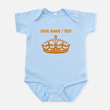 Custom Orange Crown Body Suit