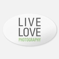 Photography Sticker (Oval)