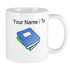 Custom Two Textbooks Mugs