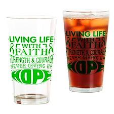 Gastroparesis Faith Drinking Glass