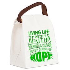 Gastroparesis Faith Canvas Lunch Bag
