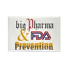 Big Pharma & FDA Rectangle Magnet