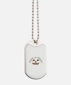 Trick Or Treat Dog Tags