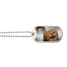 Winking Cat Dog Tags
