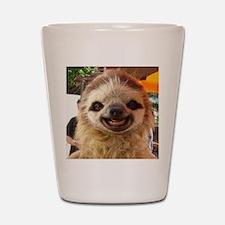 Smiling Sloth Shot Glass