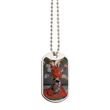 Camille Monet in Japanese Costume Dog Tags