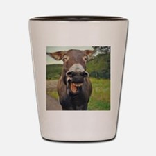 Laughing Donkey Shot Glass