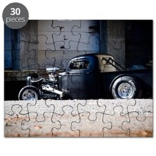 Hot Rod truck Puzzle