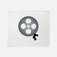 Film Reel Throw Blanket