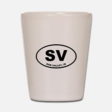 Sun Valley SV Shot Glass