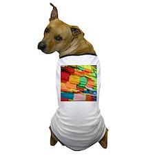 Prayer Flags-Everest-10x10 Dog T-Shirt