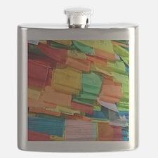 Prayer Flags-Everest-10x10 Flask