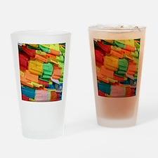 Prayer Flags-Everest-10x10 Drinking Glass