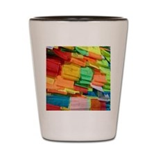 Prayer Flags-Everest-10x10 Shot Glass
