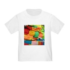 Prayer Flags-Everest-10x10 T-Shirt