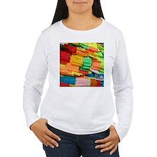 Prayer Flags-Everest-10x10 Long Sleeve T-Shirt