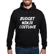 Budget Ninja Costume Hoodie
