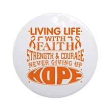 COPD Faith Ornament (Round)