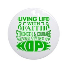 Cerebral Palsy Faith Ornament (Round)