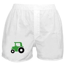 Green Tractor Boxer Shorts