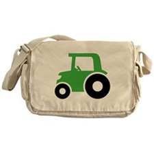 Green Tractor Messenger Bag