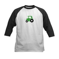 Green Tractor Baseball Jersey