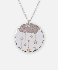 Swirling Stars Necklace