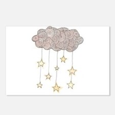 Swirling Stars Postcards (Package of 8)