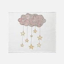 Swirling Stars Throw Blanket