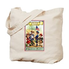 4th of July United We Stand Tote Bag