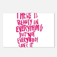 Beauty Quote Postcards (Package of 8)