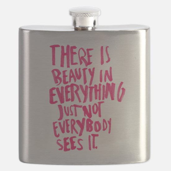 Beauty Quote Flask