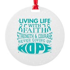 Batten Disease Faith Ornament