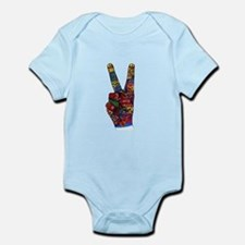 Make Peace Not War Body Suit