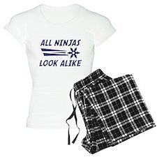 All Ninjas Look Alike Pajamas