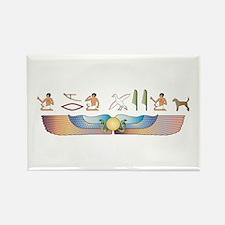 Foxhound Hieroglyphs Rectangle Magnet (10 pack)