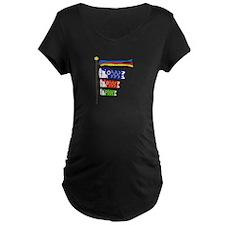 Koinobori Carp Streamers Maternity T-Shirt
