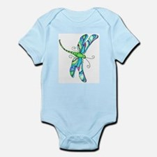 stainedGlassDragonfly Body Suit