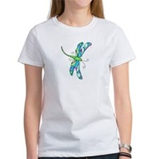 stainedGlassDragonfly T-Shirt