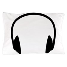 Headphones Pillow Case