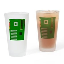 Motherboard Drinking Glass