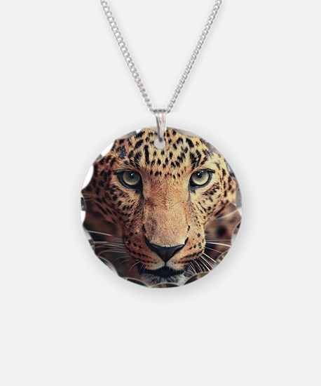Leopard Portrait Necklace