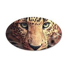 Leopard Portrait Wall Decal