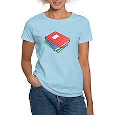 Three Textbooks T-Shirt