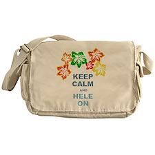 Keep Calm Hele On Messenger Bag