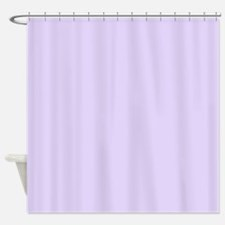 Solid Lilac Shower Curtain