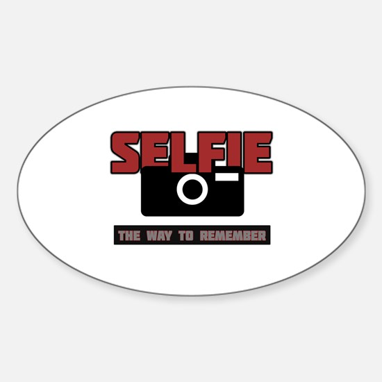 Selfie - The Way to Remember Decal