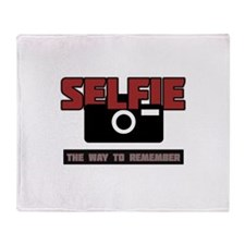 Selfie - The Way to Remember Throw Blanket